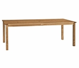 "Three Birds Brunswick Teak 72"" Rectangle Dining Table"