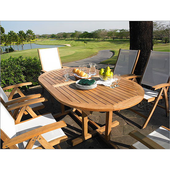Camden Teak 72 Quot Oval Dining Table