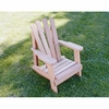 Cedar Child Size Wide Slat Adirondack Chair - Spring Kickoff Sale - May Only