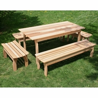 Cedar Family Dining Set - Spring Kickoff Sale - May Only