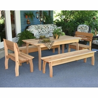 Cedar Gathering Dining Set - Spring Kickoff Sale - May Only
