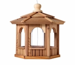 Cedar Hexagon Bird Feeder Kit