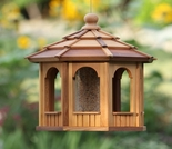 Cedar Octagon Bird Feeder Kit