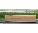 Cedar Plain Front Window Box Planter - 3 Sizes