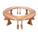 Cedar Round Tree or Fireside Surround Set - Kit