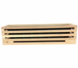 Cedar Slatted Deck Rail Planter Box - Not Currently Available