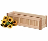Cedar Windowbox Kit
