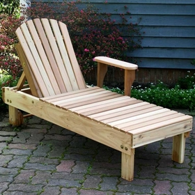Chaise Lounge - Cedar American Forest