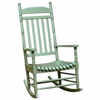 Charleston Acacia Outdoor Rocking Chair