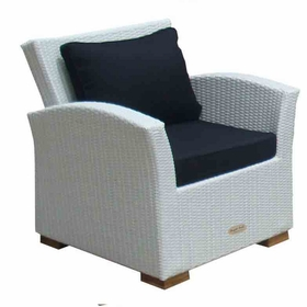 Charleston Wicker Chair - 3 Color Options - Special Closeout Pricing