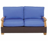 Three Birds Ciera Wicker LoveSeat - Currently Out of Stock