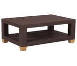 Three Birds Ciera Wicker Rectangle Coffee Table - Currently Out of Stock