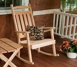 Classic Cedar Porch Rocking Chair