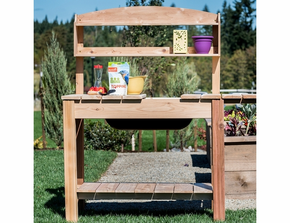 Classic Cedar Potting Bench