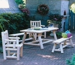 Classic Farmers Dining Table Set