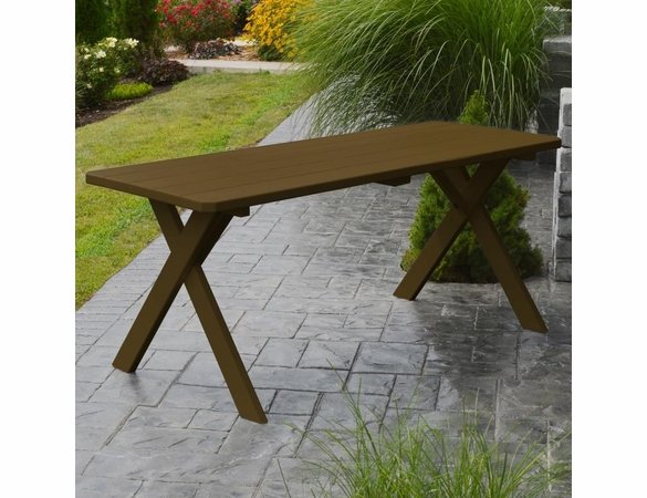 Cross-legged Table Only 4', 5', 6', or 8'