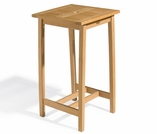 "Oxford Garden Dartmoor 28"" Square Shorea Bar Table - Additional Spring Discounts"