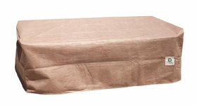"""Duck Covers Elite 24""""L Patio Ottoman / Side Table Cover"""