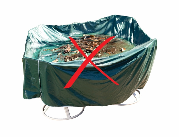 """Duck Covers Elite 40""""W Patio Chair Cover with Inflatable Airbag"""