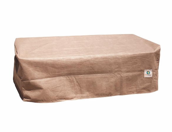 """Duck Covers Elite 52""""L Patio Ottoman / Side Table Cover"""