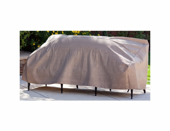 """Duck Covers Elite 54""""W Patio Loveseat Cover with Inflatable Airbag"""