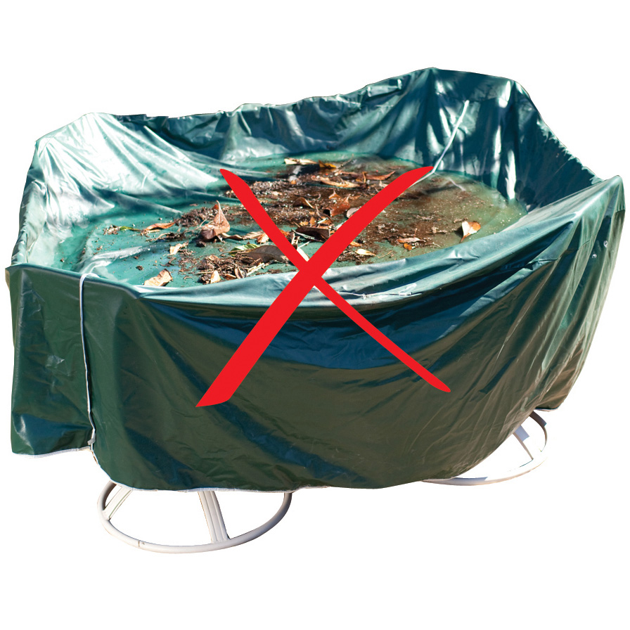 Duck Covers Elite 76 Quot Round Patio Table Amp Chairs Cover