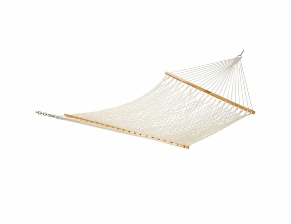 Economy Deluxe Natural Cotton Rope Double Person Hammock