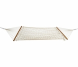 Economy Single Natural Cotton Rope Hammock