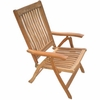 Estate Teak Reclining Folding Armchair