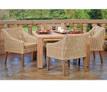 Forever Patio Carlisle Dining Arm Chair Set - 4 Piece