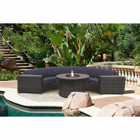 Forever Patio Horizon Sectional Set - 4 Piece
