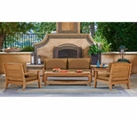 Forever Patio Miramar Plantation Sofa Set - 4 Piece