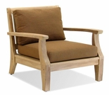 Forever Patio Miramar Plantation Teak Lounge Chair