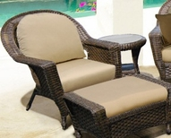 Forever Patio Wicker Augusta Collection - Steel Frame