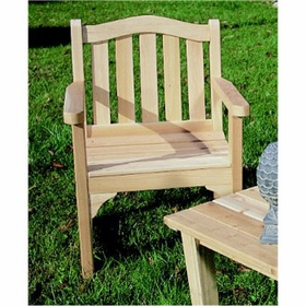 Garden Camel Back Chair