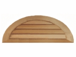 Half Round Gable Vents