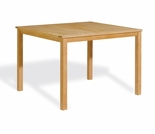 "Oxford Garden Hampton 45"" Rectangular Shorea Counter Height Table - Additional Spring Discounts"