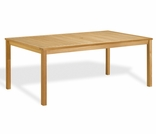 "Oxford Garden Hampton 76"" Rectangular Shorea Dining Table - Additional Spring Discounts"