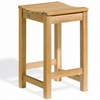 Oxford Garden Hampton Shorea Counter Height Stool only