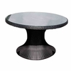 "Helena Wicker 48"" Round Table - 3 Color Options - Special Closeout Pricing"