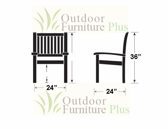 Helena Wicker Chair - 2 Color Options