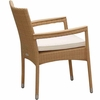 Helena Wicker Stacking Chair - 2 Color Options - Special Closeout Pricing