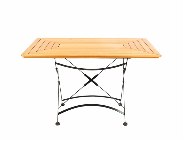 "Hi Teak 47"" Vienna Bistro Rectangular Table"