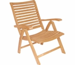 Hi Teak 5 Position Reclining Arm Chair
