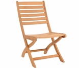 Hi Teak Banquet Folding Side Chair