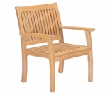 Hi Teak Buckingham Arm Chair