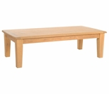 "Hi Teak Grande 47"" Coffee Table"