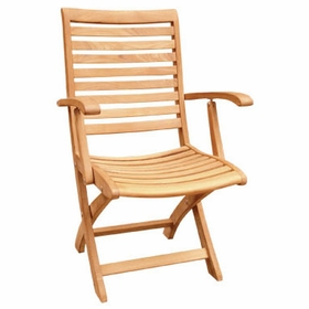 Hi Teak Lifestyle Folding Armchair