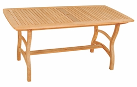 "Hi Teak 63"" Pacifica Rectangular Table"