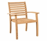 Hi Teak Royal Stacking Chair - Set of 4